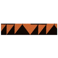 Brown Triangles Background Flano Scarf (small)