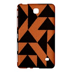 Brown Triangles Background Samsung Galaxy Tab 4 (8 ) Hardshell Case  by Simbadda