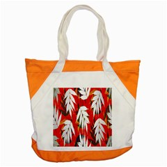 Leaves Pattern Background Pattern Accent Tote Bag by Simbadda