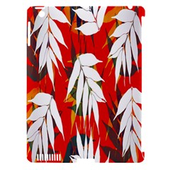 Leaves Pattern Background Pattern Apple Ipad 3/4 Hardshell Case (compatible With Smart Cover) by Simbadda