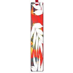 Leaves Pattern Background Pattern Large Book Marks by Simbadda