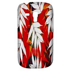 Leaves Pattern Background Pattern Galaxy S3 Mini by Simbadda