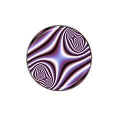 Fractal Background With Curves Created From Checkboard Hat Clip Ball Marker (10 Pack) by Simbadda