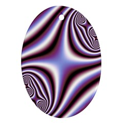 Fractal Background With Curves Created From Checkboard Oval Ornament (two Sides) by Simbadda