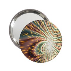 Vortex Glow Abstract Background 2 25  Handbag Mirrors by Simbadda