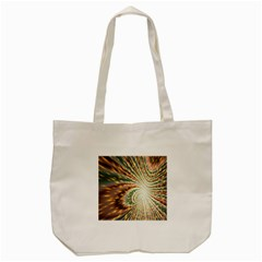 Vortex Glow Abstract Background Tote Bag (cream) by Simbadda