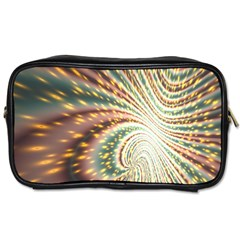 Vortex Glow Abstract Background Toiletries Bags by Simbadda