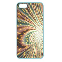 Vortex Glow Abstract Background Apple Seamless iPhone 5 Case (Color) by Simbadda