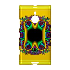 Fractal Rings In 3d Glass Frame Nokia Lumia 1520 by Simbadda