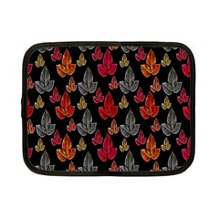 Leaves Pattern Background Netbook Case (small)  by Simbadda