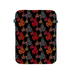 Leaves Pattern Background Apple Ipad 2/3/4 Protective Soft Cases by Simbadda
