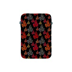 Leaves Pattern Background Apple Ipad Mini Protective Soft Cases by Simbadda