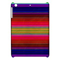 Fiestal Stripe Bright Colorful Neon Stripes Background Apple Ipad Mini Hardshell Case by Simbadda