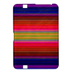 Fiestal Stripe Bright Colorful Neon Stripes Background Kindle Fire Hd 8 9  by Simbadda