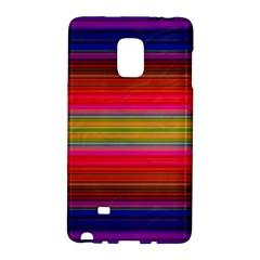 Fiestal Stripe Bright Colorful Neon Stripes Background Galaxy Note Edge by Simbadda