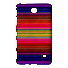 Fiestal Stripe Bright Colorful Neon Stripes Background Samsung Galaxy Tab 4 (8 ) Hardshell Case  by Simbadda