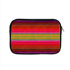 Fiestal Stripe Bright Colorful Neon Stripes Background Apple Macbook Pro 15  Zipper Case