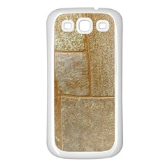 Texture Of Ceramic Tile Samsung Galaxy S3 Back Case (white) by Simbadda