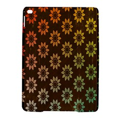 Grunge Brown Flower Background Pattern Ipad Air 2 Hardshell Cases by Simbadda