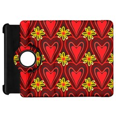 Digitally Created Seamless Love Heart Pattern Tile Kindle Fire Hd 7  by Simbadda