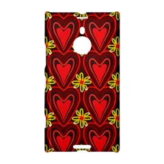 Digitally Created Seamless Love Heart Pattern Tile Nokia Lumia 1520 by Simbadda