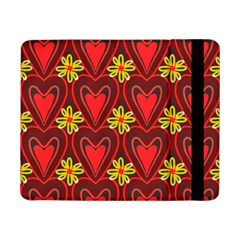 Digitally Created Seamless Love Heart Pattern Tile Samsung Galaxy Tab Pro 8 4  Flip Case by Simbadda