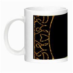 Abstract  Frame Pattern Card Night Luminous Mugs by Simbadda