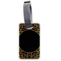 Abstract  Frame Pattern Card Luggage Tags (one Side)  by Simbadda
