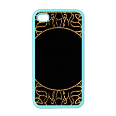Abstract  Frame Pattern Card Apple Iphone 4 Case (color) by Simbadda