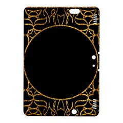 Abstract  Frame Pattern Card Kindle Fire Hdx 8 9  Hardshell Case by Simbadda
