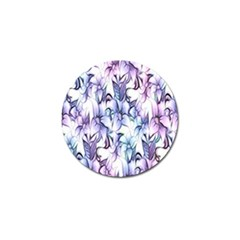 Floral Pattern Background Golf Ball Marker (4 Pack) by Simbadda