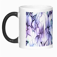 Floral Pattern Background Morph Mugs by Simbadda