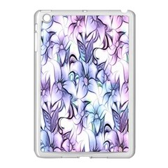 Floral Pattern Background Apple Ipad Mini Case (white) by Simbadda