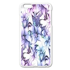 Floral Pattern Background Apple Iphone 6 Plus/6s Plus Enamel White Case by Simbadda