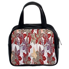 Floral Pattern Background Classic Handbags (2 Sides) by Simbadda