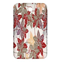Floral Pattern Background Samsung Galaxy Tab 3 (7 ) P3200 Hardshell Case  by Simbadda