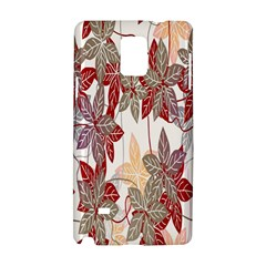 Floral Pattern Background Samsung Galaxy Note 4 Hardshell Case by Simbadda