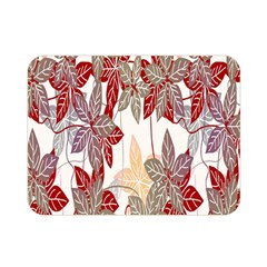 Floral Pattern Background Double Sided Flano Blanket (mini)  by Simbadda