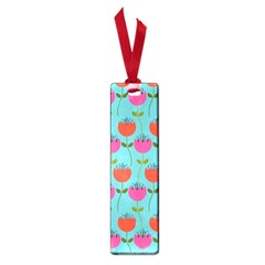 Tulips Floral Background Pattern Small Book Marks by Simbadda