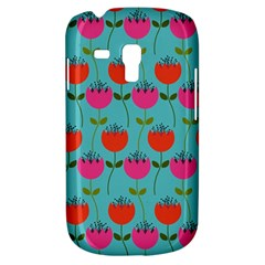 Tulips Floral Background Pattern Galaxy S3 Mini