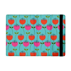 Tulips Floral Background Pattern iPad Mini 2 Flip Cases by Simbadda