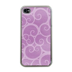 Pattern Apple Iphone 4 Case (clear) by Valentinaart