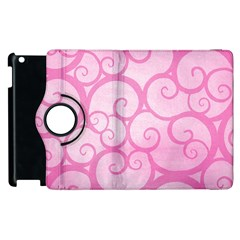 Pattern Apple Ipad 3/4 Flip 360 Case by Valentinaart