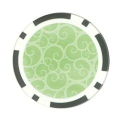 Pattern Poker Chip Card Guard by Valentinaart