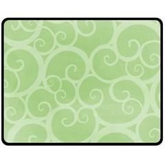 Pattern Fleece Blanket (medium)  by Valentinaart