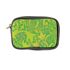 Floral Pattern Coin Purse by Valentinaart