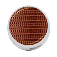 Lunares Pattern Circle Abstract Pattern Background 4 Port Usb Hub (two Sides)  by Simbadda