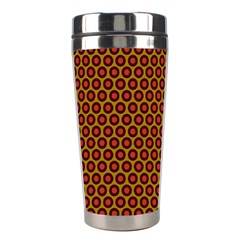 Lunares Pattern Circle Abstract Pattern Background Stainless Steel Travel Tumblers by Simbadda