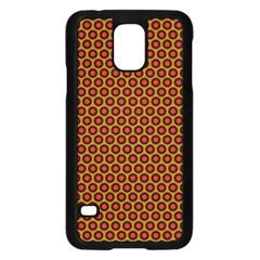 Lunares Pattern Circle Abstract Pattern Background Samsung Galaxy S5 Case (black) by Simbadda