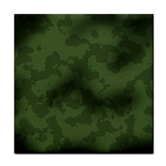 Vintage Camouflage Military Swatch Old Army Background Tile Coasters by Simbadda